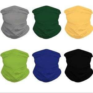 High Elastic Full Face Mask Covering - 6 Colors